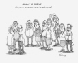 M2003.143.114 | School break, what a laugh. Find the teacher... | Drawing | Serge Chapleau |  |