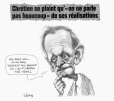 "M2003.143.128 | Chrétien complains that ""we don't talk much"" about his accomplishments... 