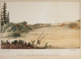 M2003.148.1 | Lower view of the Ramparts from Hare-skin River | Painting | Sir George Back |  |