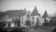 M2003.28.119   Courthouse, Rossland, BC, 1907   Photograph   Burkewood Welbourn     