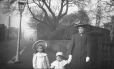 M2003.28.140 | Mrs. Burkewood Welbourn and her children Edith and Joseph, Rainhill, Lancs, England, 1907 | Photograph | Burkewood Welbourn |  |