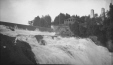 M2003.28.19 | Top of Montmorency Falls, Montmorency, near Quebec City, QC, 1907 | Photograph | Burkewood Welbourn |  |