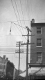 M2003.28.39 | Wires at the corner of King and Yonge Streets, Toronto, ON, 1907 | Photograph | Burkewood Welbourn |  |