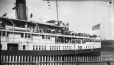 "M2003.28.49 | American steamer ""Cayuga"" on Lake Ontario, ON, 1907 
