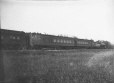 M2003.28.73 | C. P. R. passenger train hung up on line, MB, 1907 | Photograph | Burkewood Welbourn |  |