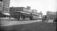 M2003.28.83 | Streetcars on Main Street, Winnipeg, MB, 1907 | Photograph | Burkewood Welbourn |  |