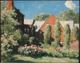 M2004.137.1 | A City Garden | Painting | Richard Jack, 1866-1952 |  |