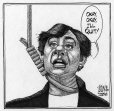 M2004.143.7 | Sheila Copps Promises to Quit | Drawing | Aislin (alias Terry Mosher) |  |