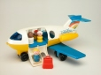 M2004.88.2.1-6 | Little People © DC-9 | Avion, jouet | Fisher Price Toys |  |