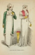 M2004X.6.1.108 | Robes londoniennes  (extrait de The Lady's Monthly Museum) | Impression |  |  |