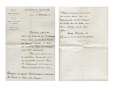 M2005.114.1.4   Safe-conduct for Honoré Beaugrand and his wife   Manuscript        