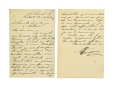 M2005.114.5.1.1 | Letter written by Honoré Beaugrand to Judge [François-Octave?] Dugas | Letter |  |  |