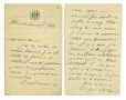 M2005.114.5.2.4 | Letter written by Sir Wilfrid Laurier to Honoré Beaugrand | Letter |  |  |