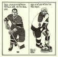 M2005.143.52   Hockey Then and Now   Drawing   Aislin (alias Terry Mosher)     