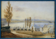 M2007.125.12 | View of the St. Lawrence River, from Quebec City | Painting | Catherine Harcourt Lady |  |