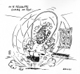 M2007.69.239 | We do what we can to keep warm | Drawing | Garnotte (alias Michel Garneau) |  |