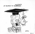 M2007.69.273 | Billionaire scholarships | Drawing | Garnotte (alias Michel Garneau) |  |