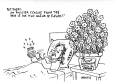 M2007.69.414 | News item: Policeman apologizes for shooting flower thief in the back!! | Drawing | Garnotte (alias Michel Garneau) |  |