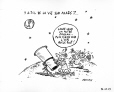 M2007.69.93 | Is there life on Mars? | Drawing | Garnotte (alias Michel Garneau) |  |