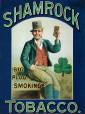 M2008.116.1 | Poster advertising Shamrock Big Plug Smoking Tobacco, early 20th century | Print |  |  |
