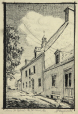 M2010.62.6 | Ferme St. Gabriel - Pte. St. Charles, Que. | Drawing | Harry Mayerovitch |  |