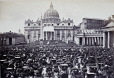 M2010.89.1.189 | St. Peter's Basilica on Carnival Day, Rome, Italy, about 1860 | Photograph | Carlo Ponti |  |