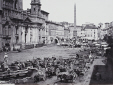 M2010.89.1.202 | Market day, Piazza Navona and the Fountain of the Four Rivers, Rome, Italy, about 1865 | Photograph | Sommer & Behles |  |
