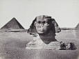 M2010.89.1.59 | The Sphinx and the Pyramid of Menkaure (3rd pyramid), Giza, Egypt, about 1865 | Photograph | Wilhelm Hammerschmidt |  |