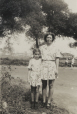 M2011.64.2.6.210 | Shirley Sutcliffe and her mother Janet, in matching outfits at Old Orchard, Maine, U.S.A., 1940 | Photograph |  |  |