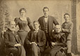 M2012.70.2.2 | Portrait of Shackell-Bagg family, Lachine, QC, 1898 | Photograph | George Charles Arless |  |