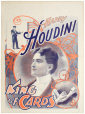 M2014.128.227 | Harry Houdini, roi des cartes | Affiche | National Printing and Engraving Company |  |