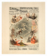 M2014.128.295 | Prodiges d'Europe – Horticultural Hall | Affiche | Forbes Lithograph Manufacturing Company |  |