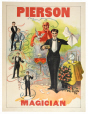 M2014.128.472 | Pierson, magicien | Affiche | Great Western Printing Company |  |