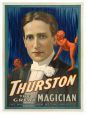 M2014.128.522 | Thurston the Great Magician | Poster | Strobridge Lithographing Company |  |