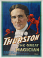 M2014.128.523 | Thurston the Great Magician | Poster | Strobridge Lithographing Company |  |