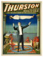 M2014.128.542 | Thurston the Great Magician – Levitation | Poster | Strobridge Lithographing Company |  |