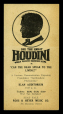 "M2014.128.702.29 | Handbill announcing the Great Houdini in the lecture ""Can the Dead Speak to the Living?"" 