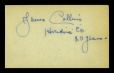 M2014.128.702.41 | Autographs of James Collins and Joseph F. Rinn | Document |  |  |