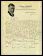 M2014.128.704.33 | Lettre d'Elmer Johnson à Harry Houdini | Lettre |  |  |