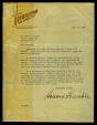 M2014.128.704.6 | Letter to Harry Houdini from Howard Thurston | Letter |  |  |