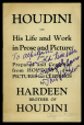 M2014.128.706.10 | «Houdini. His Life and Work in Prose and Picture» | Livret |  |  |