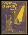 M2014.128.706.24 | Programme du Carnival of Magic de la Society of American Magicians | Programme |  |  |