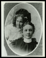 M2014.128.708.14 | Eva Fay with a young girl, St. Joseph, MO | Photograph | Byarlay |  |
