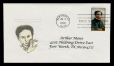 M2014.128.710.7.1-2 | Harry Houdini first day cover, addressed to Arthur Moses | Envelope |  |  |