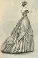 M21951.77.563.1 | Fashionable Costumes, Fig. 1 (from Godey's Lady's Book and Magazine) | Print |  |  |