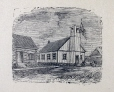 M2238 | Protestant Church at the Lake of the Two Mountains | Print | John Henry Walker (1831-1899) |  |