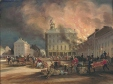 M310 | Burning of Hayes House, Dalhousie Square, Montreal. | Painting | James Duncan (1806-1881) |  |