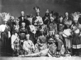 M6308 | Mohawk group with William Workman, Mayor of Montreal, Kahnawake, QC, 1869. | Photograph | James Inglis |  |