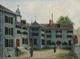 M650 | The Seminary of St. Sulpice, Montreal | Painting | Henry Richard S. Bunnett |  |