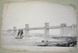 M6924.7 | Britannia Tubular Bridge, general view | Print | Anonyme - Anonymous |  |
